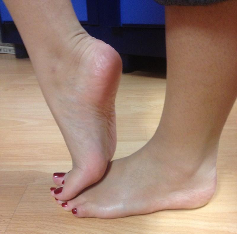 Foot modeling application sample photos - Foot Modeling